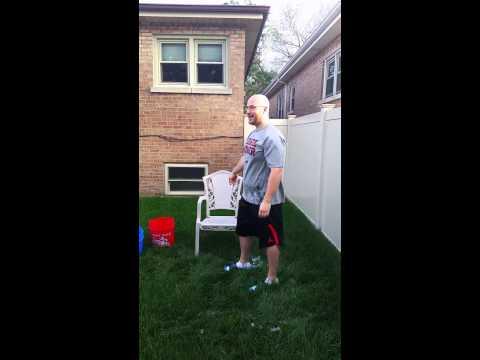 ALS Ice Bucket Challenge, Jim Lynch Sam Leonard