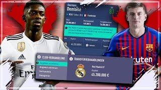 JEDEN TRANSFER MIT BARCELONA AKZEPTIEREN !! 🔥 | FIFA 19 Barcelona Karriere