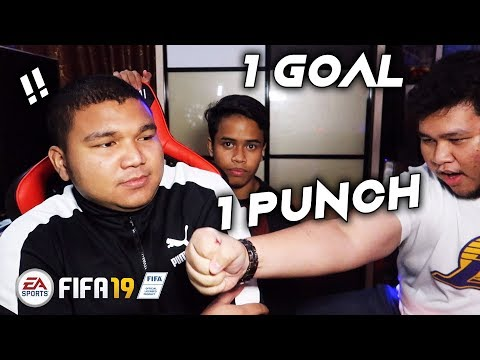 1 GOAL = 1 PUNCH - FIFA 19 'CHALLENGE' (MALAYSIA)