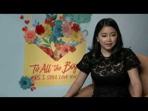 First On-Screen Kiss: Lana Condor