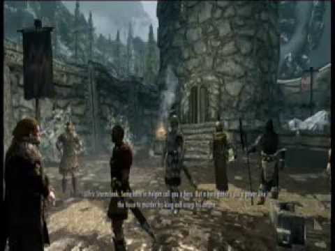 Skyrim Elder Scrolls V Gameplay Part 1