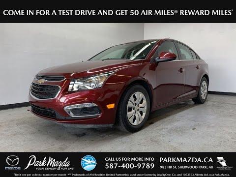 RED 2015 Chevrolet Cruze  Review   - Park Mazda