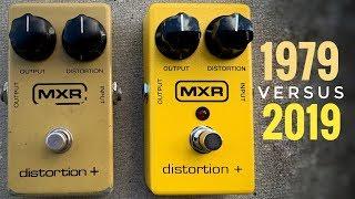 MXR Distortion + ORIGINAL vs REISSUE!