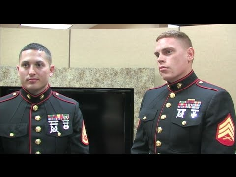 U.S. Marines Come To Town For Toys For Tots - Christmas Charity