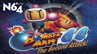 Bomberman 64 : The Second Attack - Nintendo 64 Review - Ultra HDMI - HD