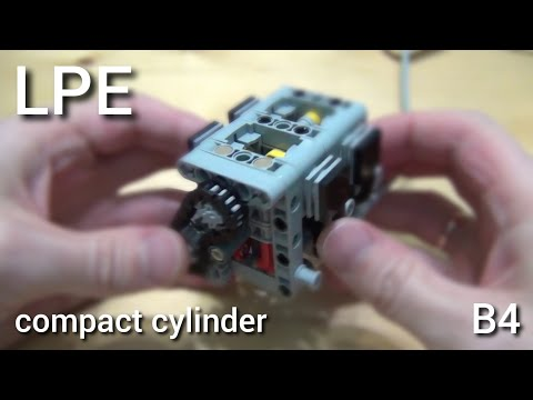 Lego pneumatic engine. New compact version. Part 14