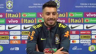 Seleção Brasileira: coletiva com David Neres e Alex Telles - 18/03/2019