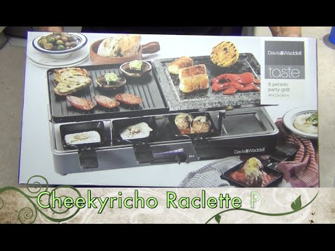 Raclette Unboxing And Party Cheekyricho Video Recipe Episode 1,004
