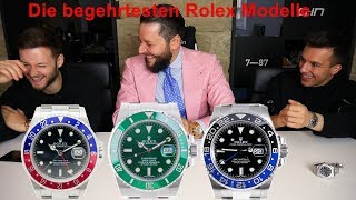 Die begehrtesten Rolex Modelle mit Inscope21 & Tim Gabel