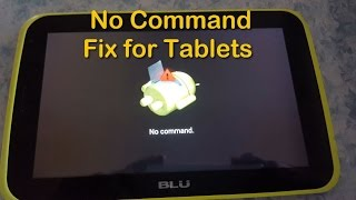 Tablet No command fix