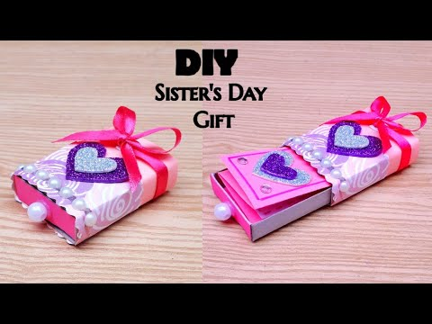 Amazing Diy Sister S Day Gift Ideas During Quarantine Sisters Day Gifts Sisters Day Gifts 2020 Youtube