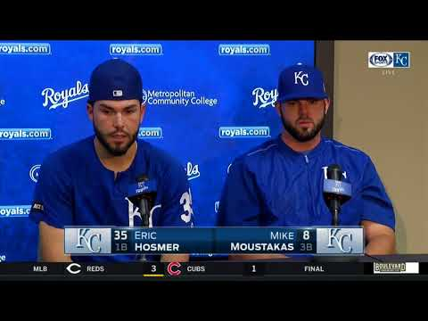 Eric Hosmer, Mike Moustakas, Alcides Escobar and Lorenzo Cain reminisce after final game of 2017