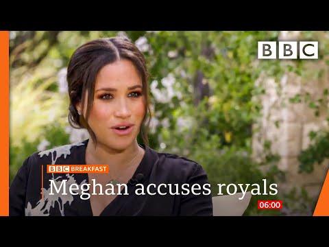 Meghan accuses royals of 'perpetuating falsehoods' in Oprah Winfrey interview teaser clip