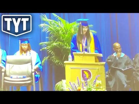 Brittany Elyse - DALLAS VALEDICTORIAN CENSORED AFTER NAMING TRAYVON MARTIN AND TAMIR RICE!