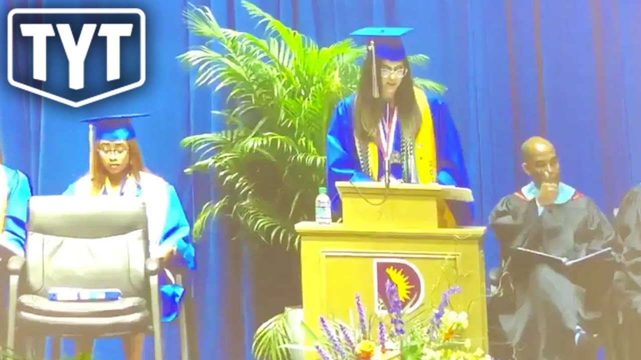 Valedictorian Censored During Graduation Speech