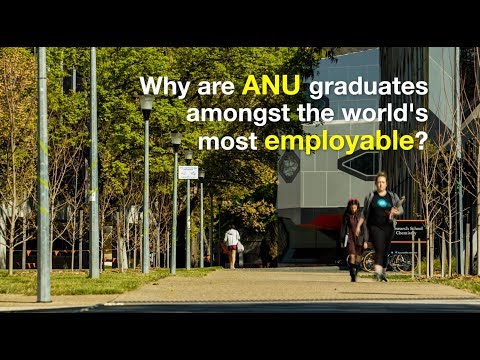 ANU graduates among the world's most employable