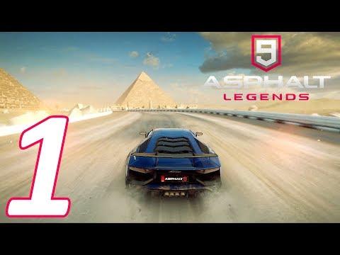 ASPHALT 9: LEGENDS WALKTHROUGH #1 - TUTORIAL & FIRST RACES! (CAREER S1)