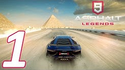ASPHALT 9: LEGENDS WALKTHROUGH #1 - TUTORIAL & FIRST RACES! (CAREER S1)
