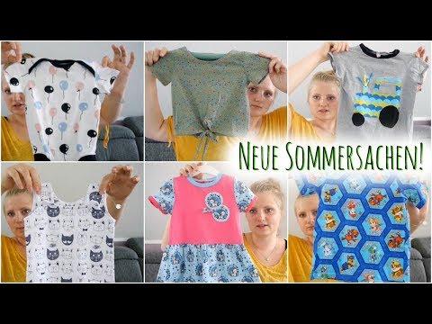 Meine Genähten Sommersachen Für 3 Kinder   Inspiration & Lieblingsschnitte