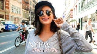 New York Fashion Week & 7 MONTHS PREGNANT! | Style Vlog