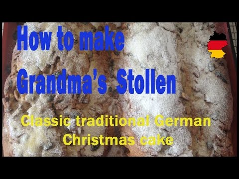 How to make Grandma's Stollen