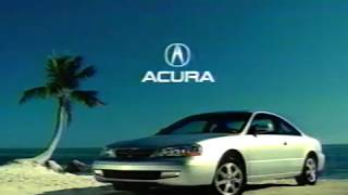 Acura 3.2 CL - 2000 Commercial