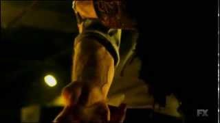 The Strain TV series episode 1: scary monster scene