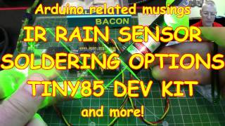 #79 IR Rain ☂️ Sensor, Solderi…