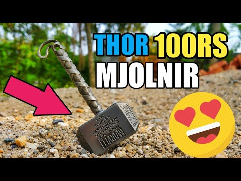 THOR HAMMER MJOLNIR KEYCHAIN REVIEW |AMAZON INDIA 100RS|
