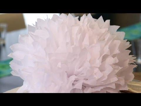 Wedding Tissue Decorations Great Wedding Ideas Youtube