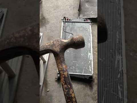 How to clean a aluminum radiator the easy way