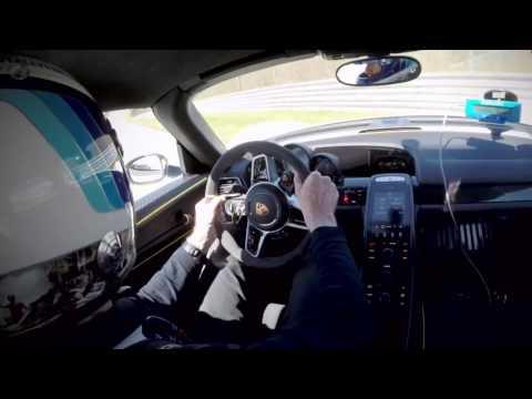 Walter Röhrl Crashes Porsche 918 During Testing