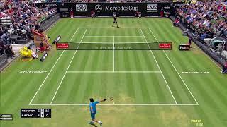 Tennis Elbow 2013 | ATP 250 Stuttgart | Federer vs Raonic Highlights
