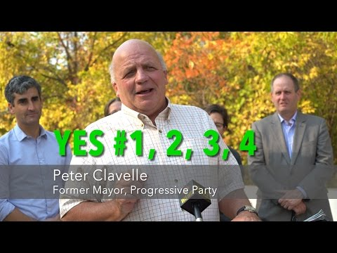 Former Mayor Peter Clavelle - Why He Supports This Project & Ballots 1-4