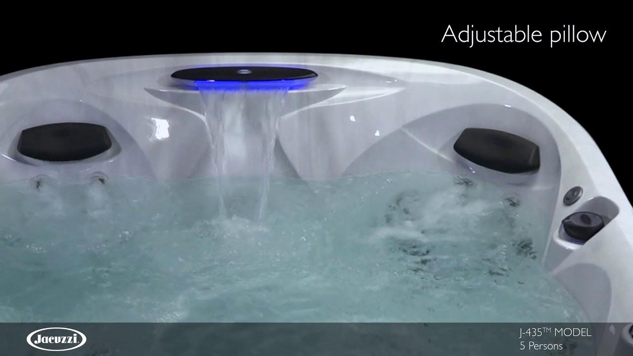 J-435 Seven Foot Jacuzzi Hot Tub Spa - YouTube