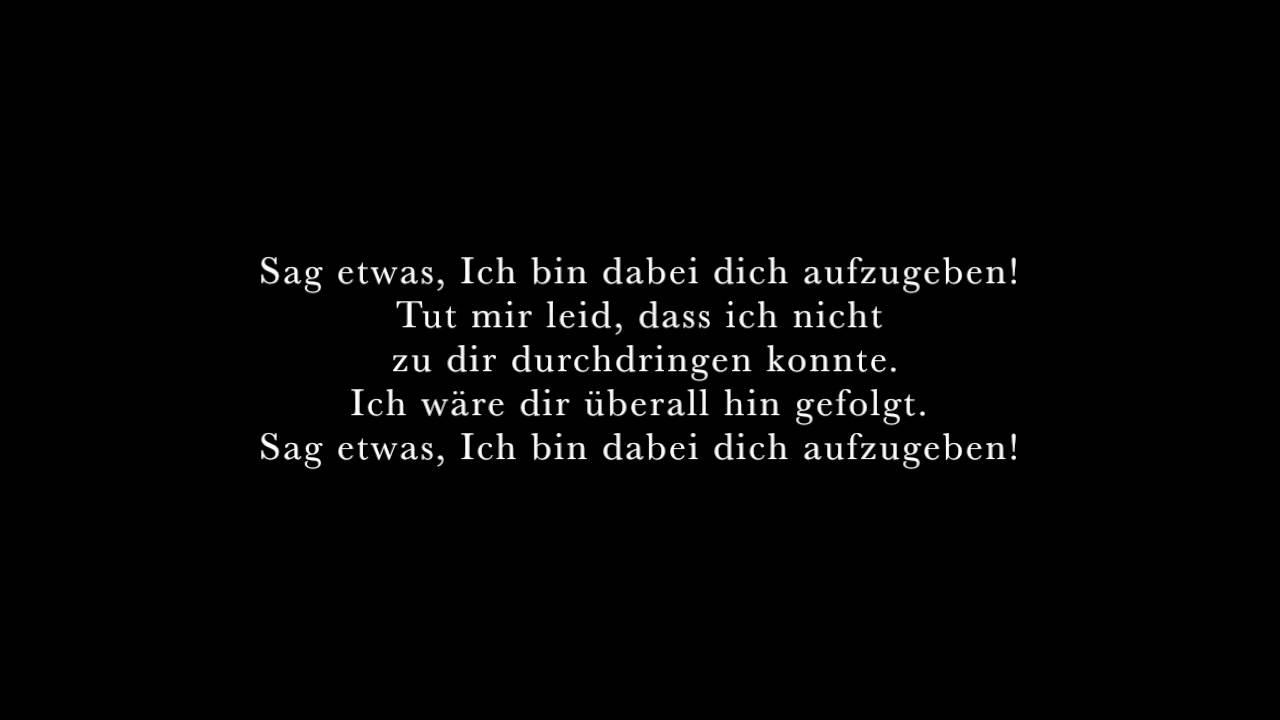 Übersetzung Songs