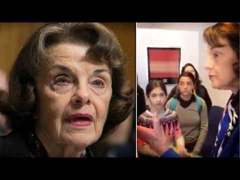 WATCH: Dianne Feinstein's Smug Response to Kids Worried About Climate Change