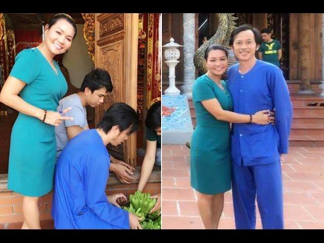 Nghệ sĩ Ngọc Huyền bất ngờ về nước thăm nhà thờ Tổ của Hoài Linh
