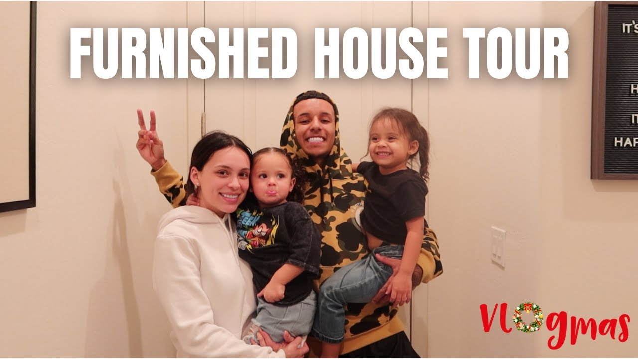 OUR OFFICIAL FURNISHED HOUSE TOUR | Vlogmas 2020 - download from YouTube for free