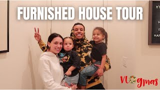 OUR OFFICIAL FURNISHED HOUSE TOUR | Vlogmas 2020