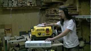 1/3 - Installing A Shelix Cutterhead In A Dewalt Dw735 Thickness Planer