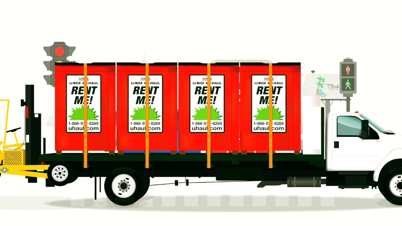 U-Haul: U-Box Containers for Moving & Storage