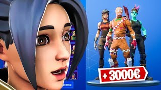 MY SKINS RARE CASIER on FORTNITE! (Fortnite DjackBy9)