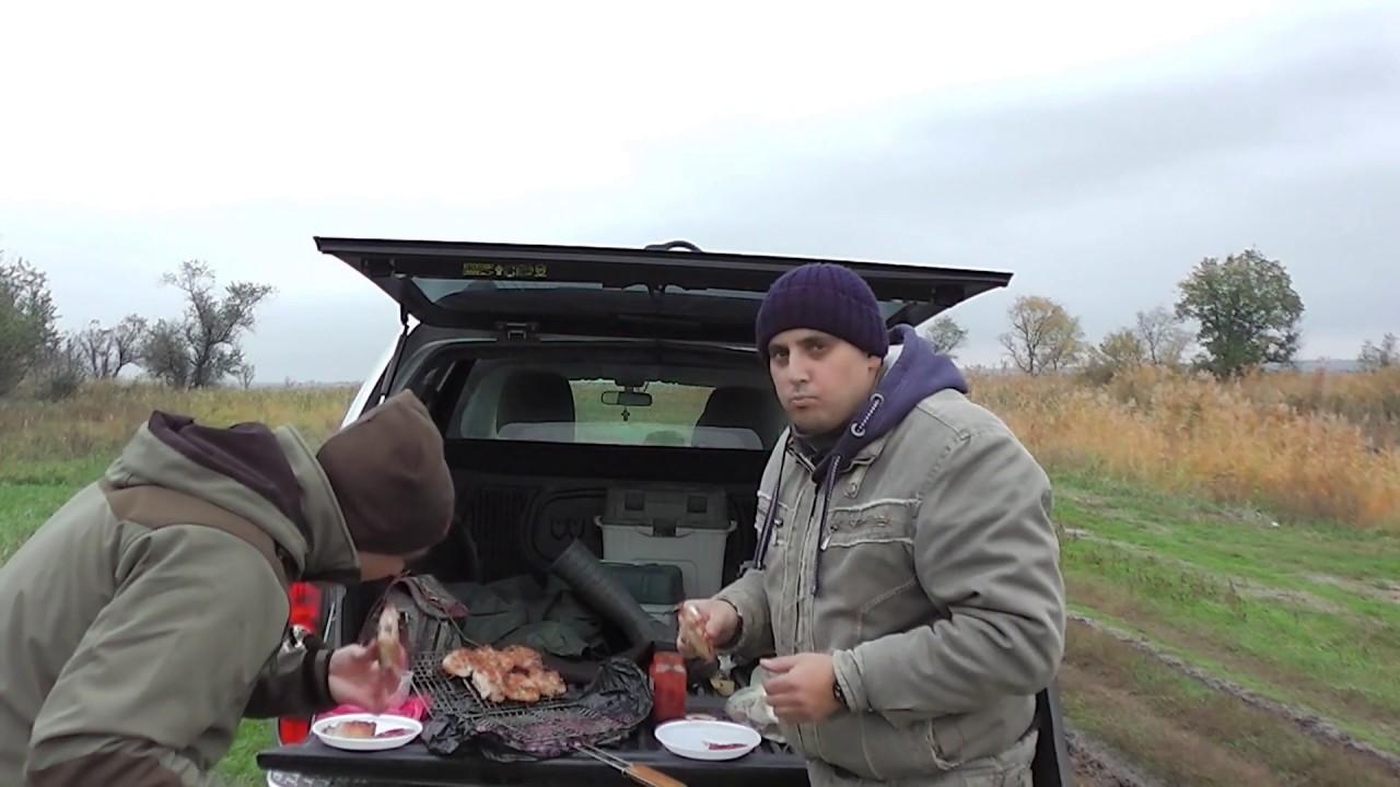 Рыбалка на щуку,или отдых на природе,жарим мясо на углях