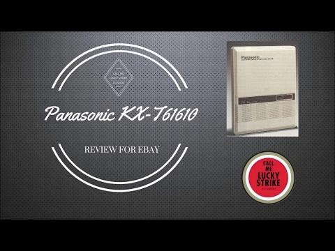 Panasonic KX-T61610 PBX -  eBay Listing