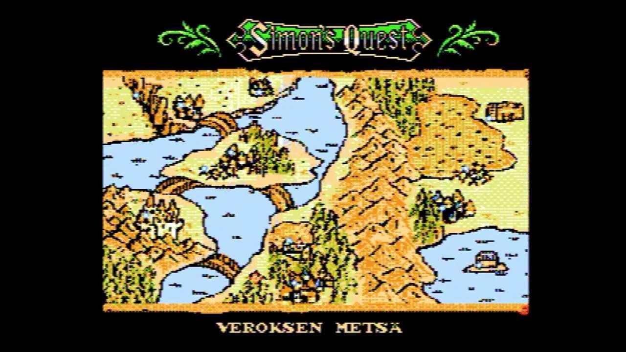Castlevania World Map.Castlevania Ii Simon S Quest Suomeksi Finnish Fan Translation Rom Hack