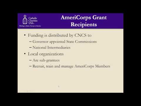 Grant Opportunity  AmeriCorps for Immigration Legal Services webinar