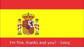 Скачать Spanish Phrases I M Fine Thanks And You