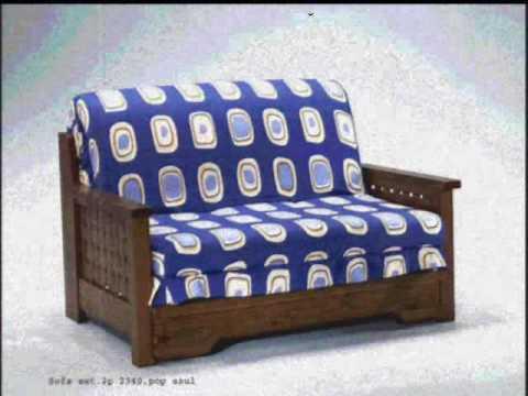 Tutti sofas sofas cama de madera youtube for Catalogos de sofas cama