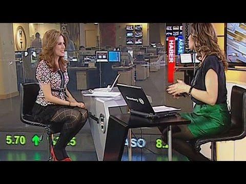 İpek Kaplan Köseoğlu & Hande Kazanova Beautiful Turkish Tv Presenters 14.03.2013